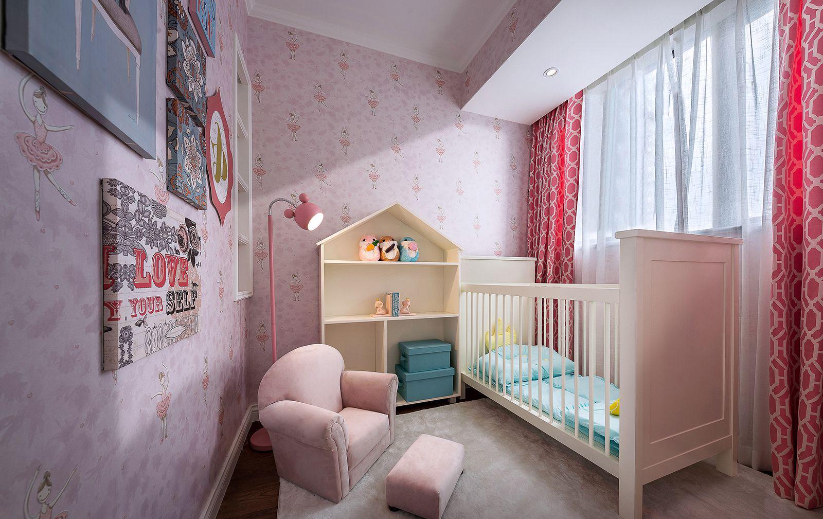 法式混搭风格儿童房装修效果图