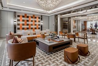 时尚现代别墅客厅装修效果图