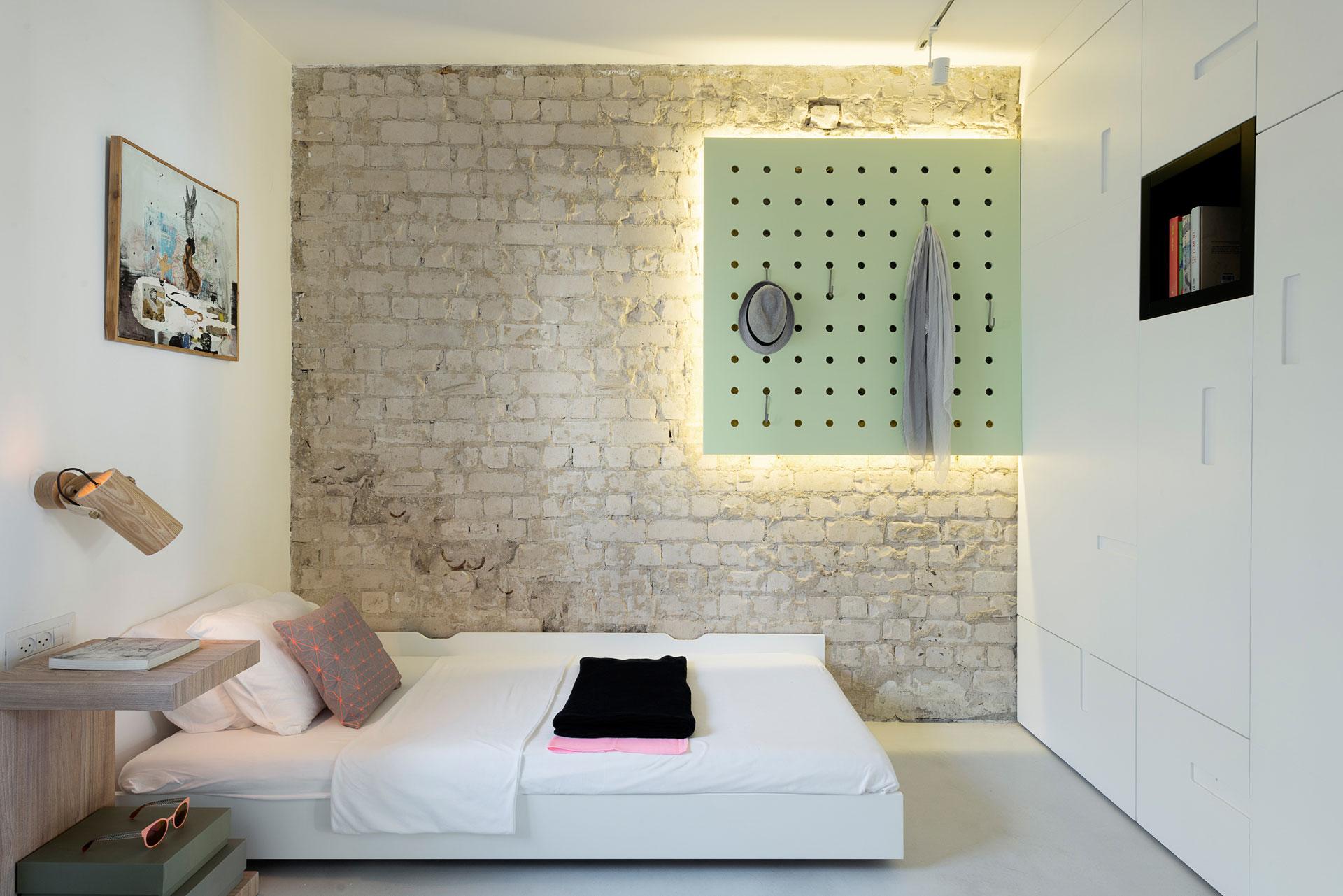 简约风公寓卧室装修设计图