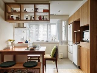 日式风格小户型厨房装修效果图
