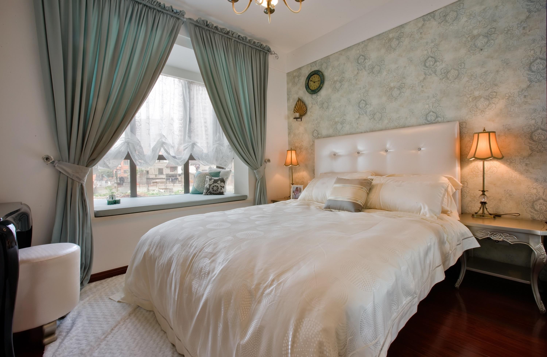 120平米简欧风格卧室装修设计图