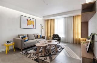 宜家风格两居室客厅装修效果图