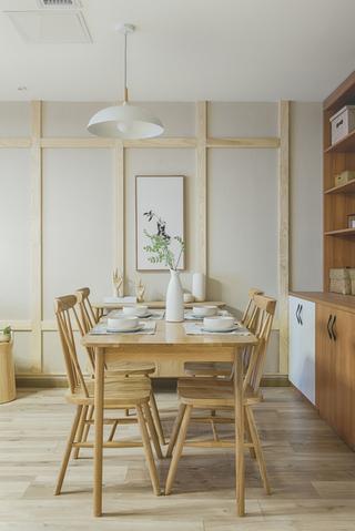 108㎡日式风格餐厅装修效果图