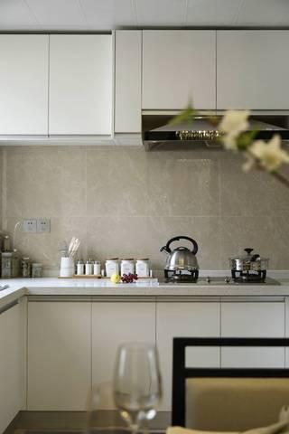 140㎡现代中式风格厨房装修效果图