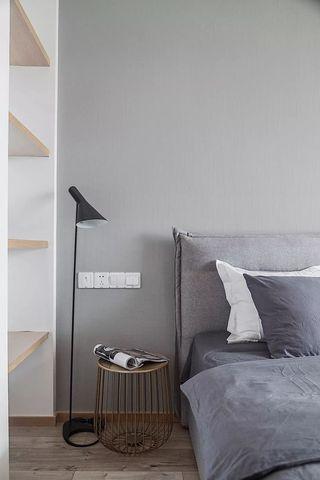 100㎡简约风格卧室背景墙装修效果图