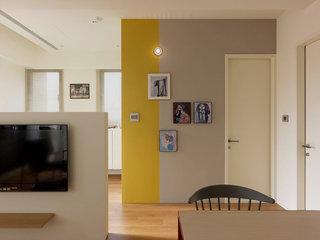 简约北欧风公寓照片墙装修效果图