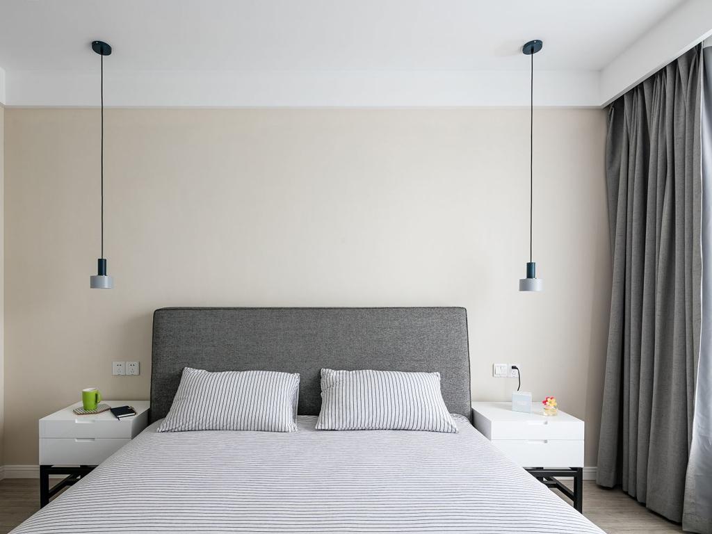北欧简约风卧室装修效果图