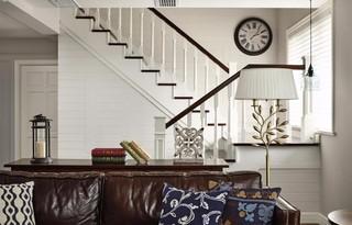 110平复式美式楼梯装修效果图