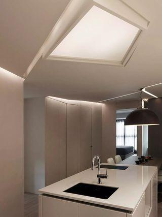 150平台式风格厨房吊顶装修效果图