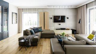 大户型公寓电视背景墙装修效果图