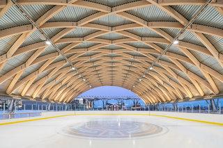拱形溜冰场设计图