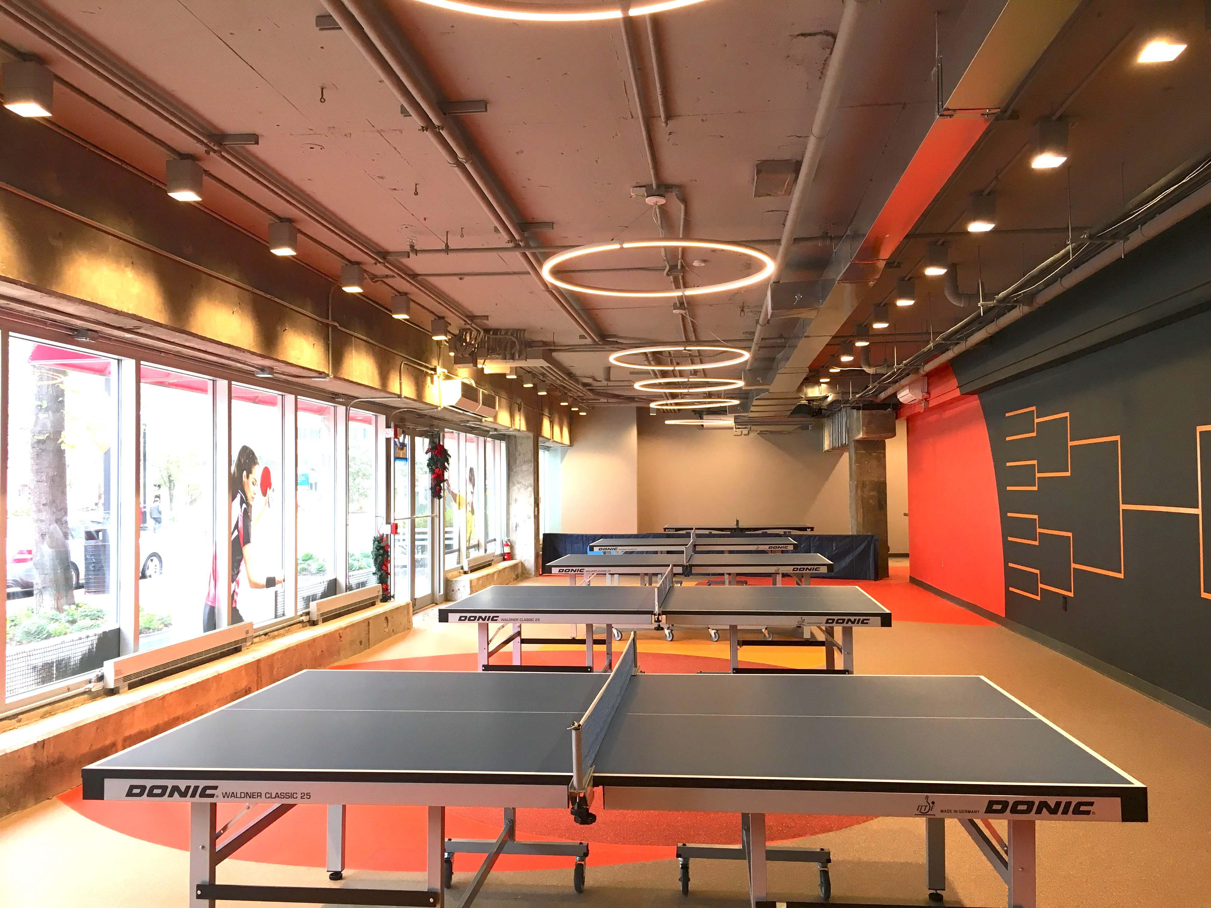 乒乓球馆装修设计效果图