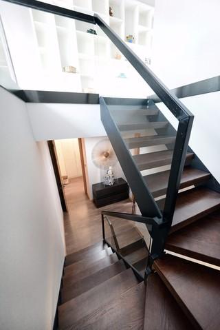 现代风格复式楼梯装修效果图