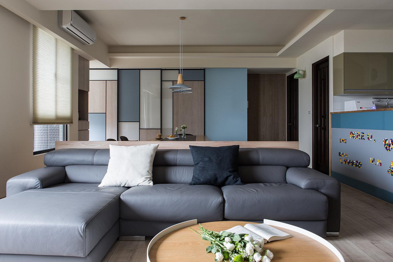现代风格别墅装修沙发设计效果图