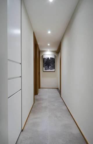 100㎡现代简约走廊装修效果图