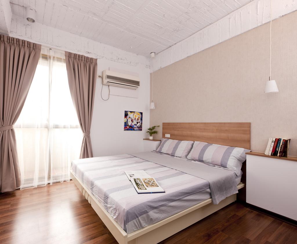 小户型现代风格卧室装修效果图