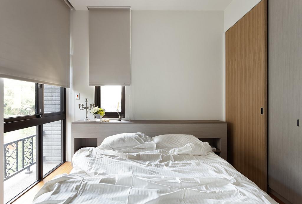 90平现代风格卧室装修效果图