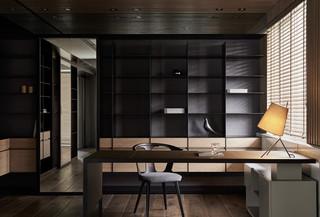 大户型现代风书房装修效果图