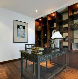 东南亚风格三居书房装修设计图