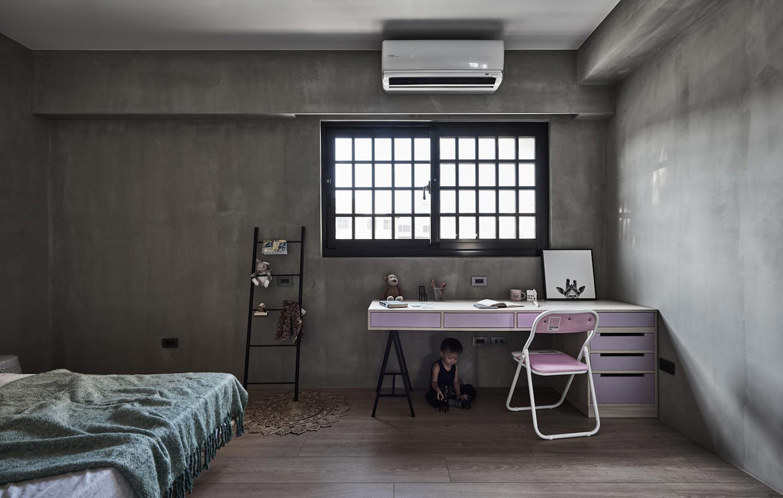 165㎡工业风格卧室装修效果图