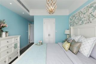 清新美式风卧室装修效果图