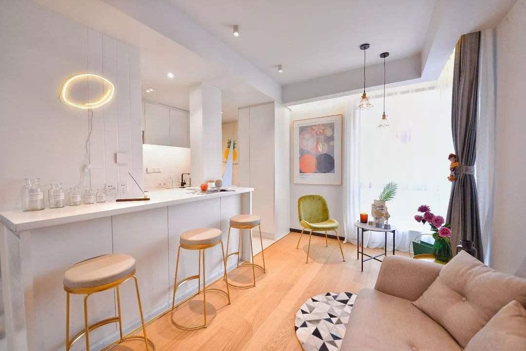 单身公寓装修设计图:单身公寓38平米怎么装修效果图