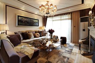 奢华欧式古典风格客厅装修效果图