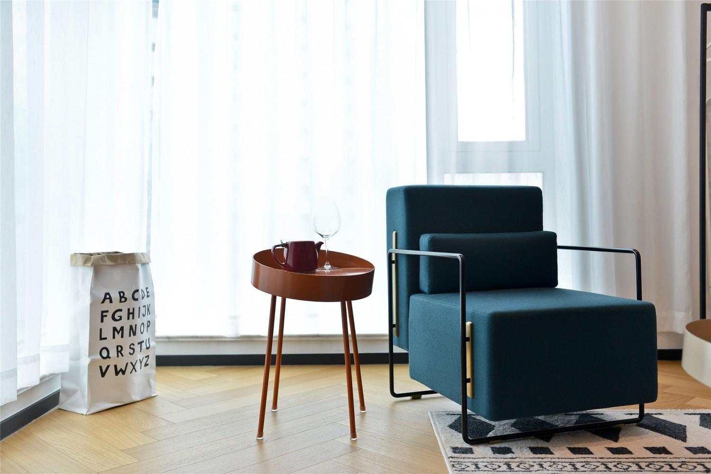 50㎡简约风格装修沙发椅设计图