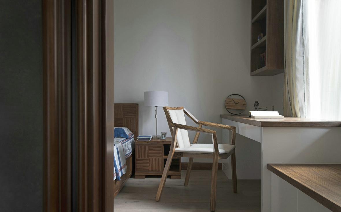 禅意新中式风格卧室装修效果图