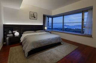 大户型现代北欧风卧室装修设计图