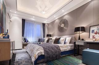 100平时尚现代风卧室装修效果图