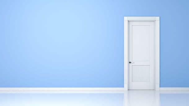白色门搭什么颜色墙面好看 如何正确保养白色门