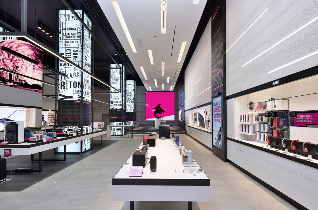 时尚现代营业厅装修效果图