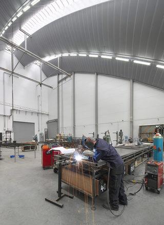 大型生产车间设计效果图