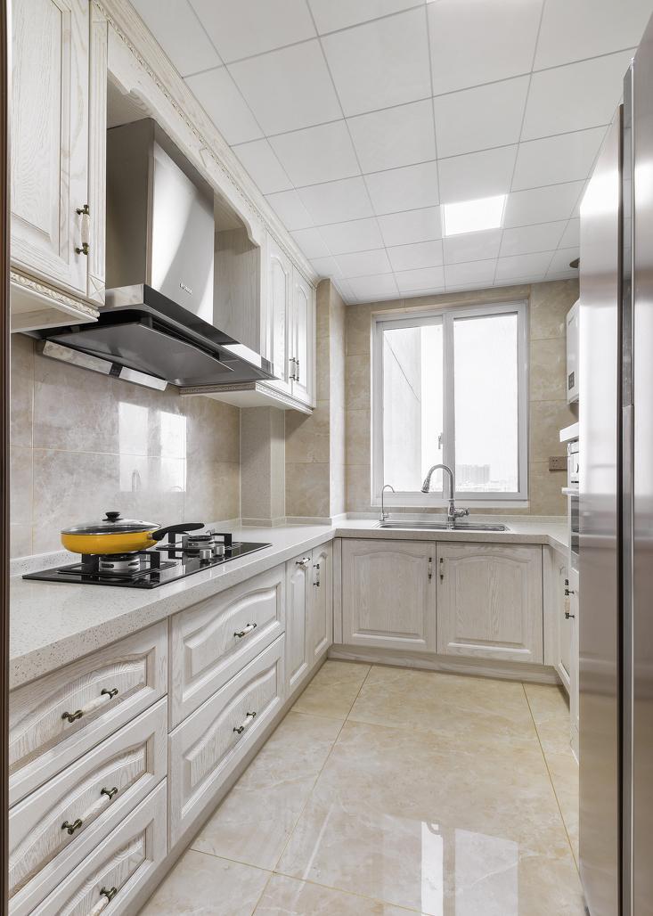 120㎡美式风格厨房装修效果图