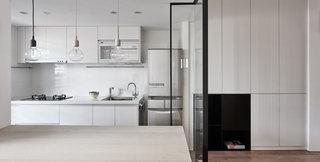 69平简约风公寓厨房装修效果图