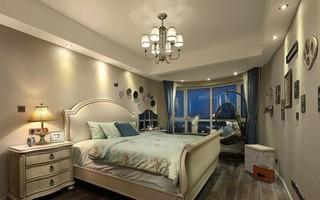 欧美风情三居卧室装修效果图