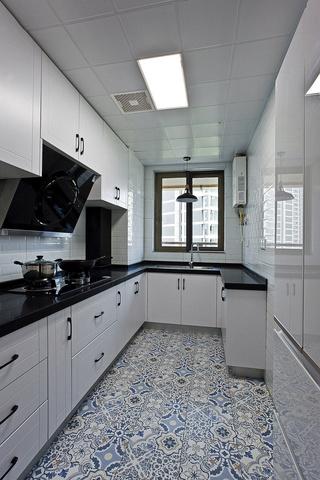 90㎡北欧风格厨房装修效果图
