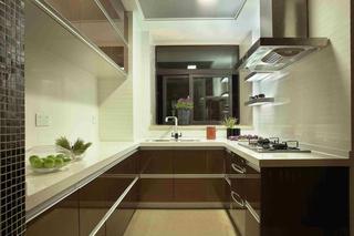 160平现代风格厨房装修效果图