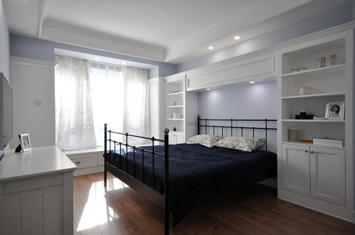 美式风格二居卧室装修效果图