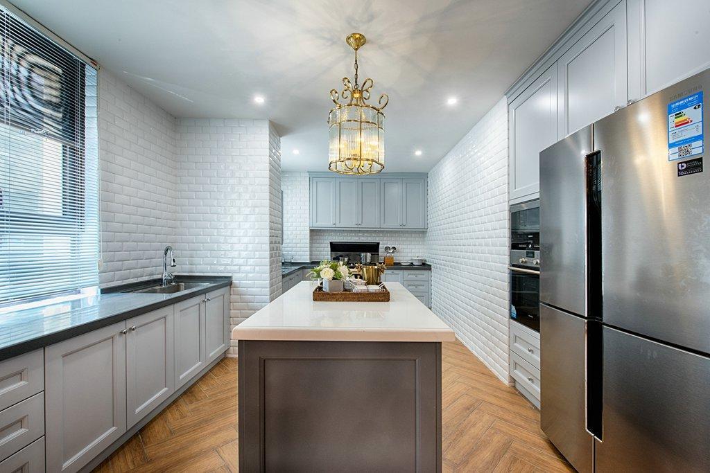 美式风格别墅厨房装修注册送300元现金老虎机图