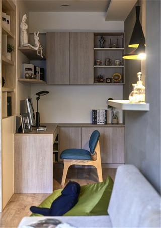60㎡小户型书房装修效果图