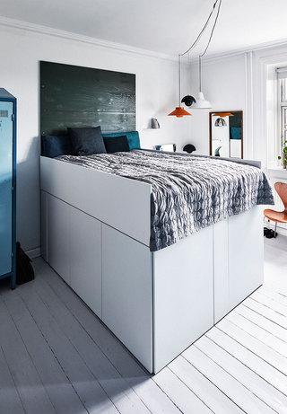 120㎡北欧风公寓卧室装修效果图