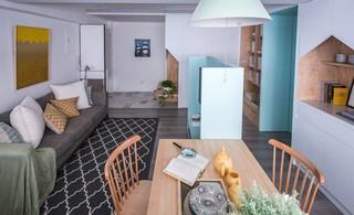 简约北欧两居室装修效果图