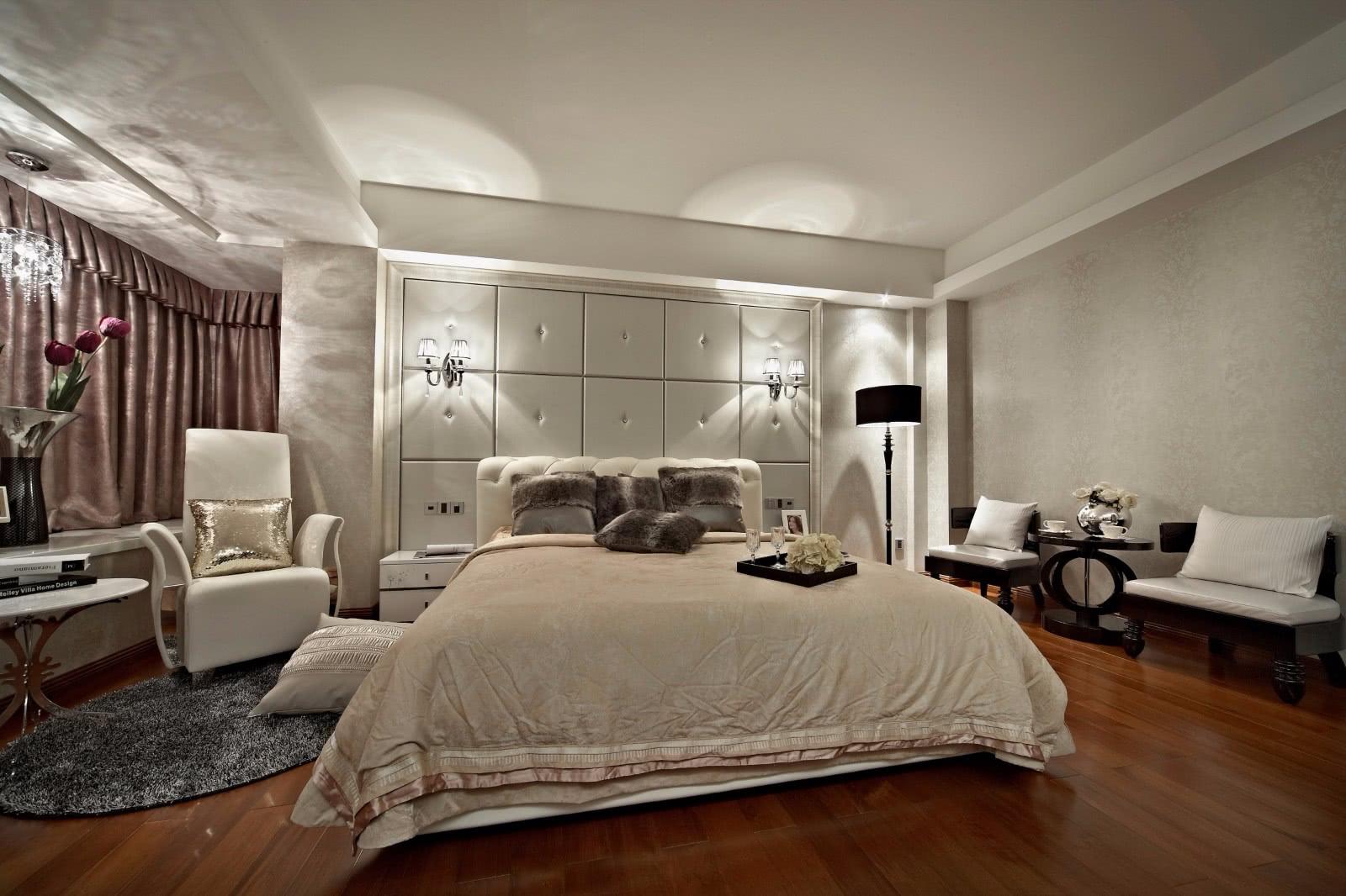 新古典风格别墅卧室装修注册送300元现金老虎机图