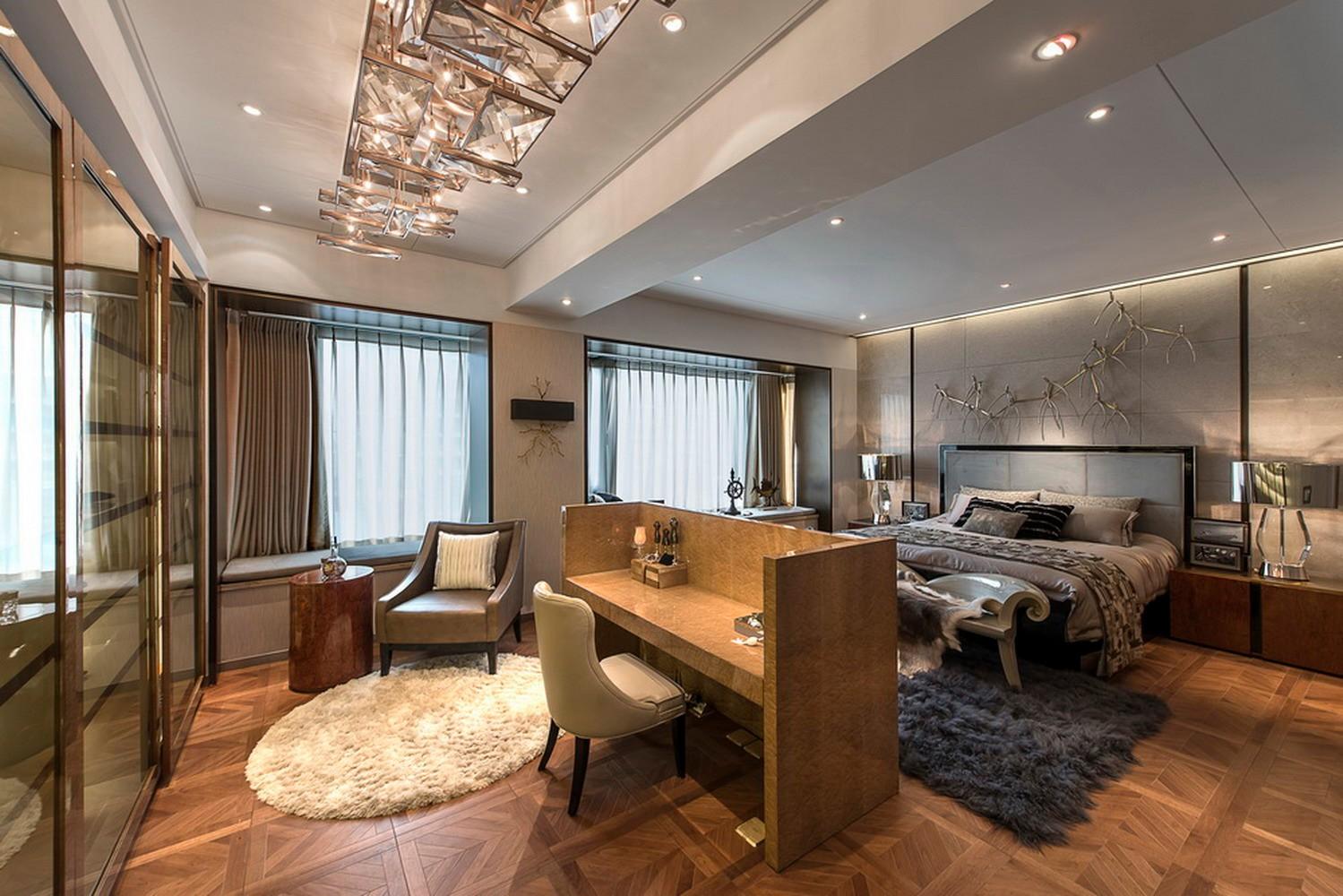 大户型后现代风格卧室装修设计图