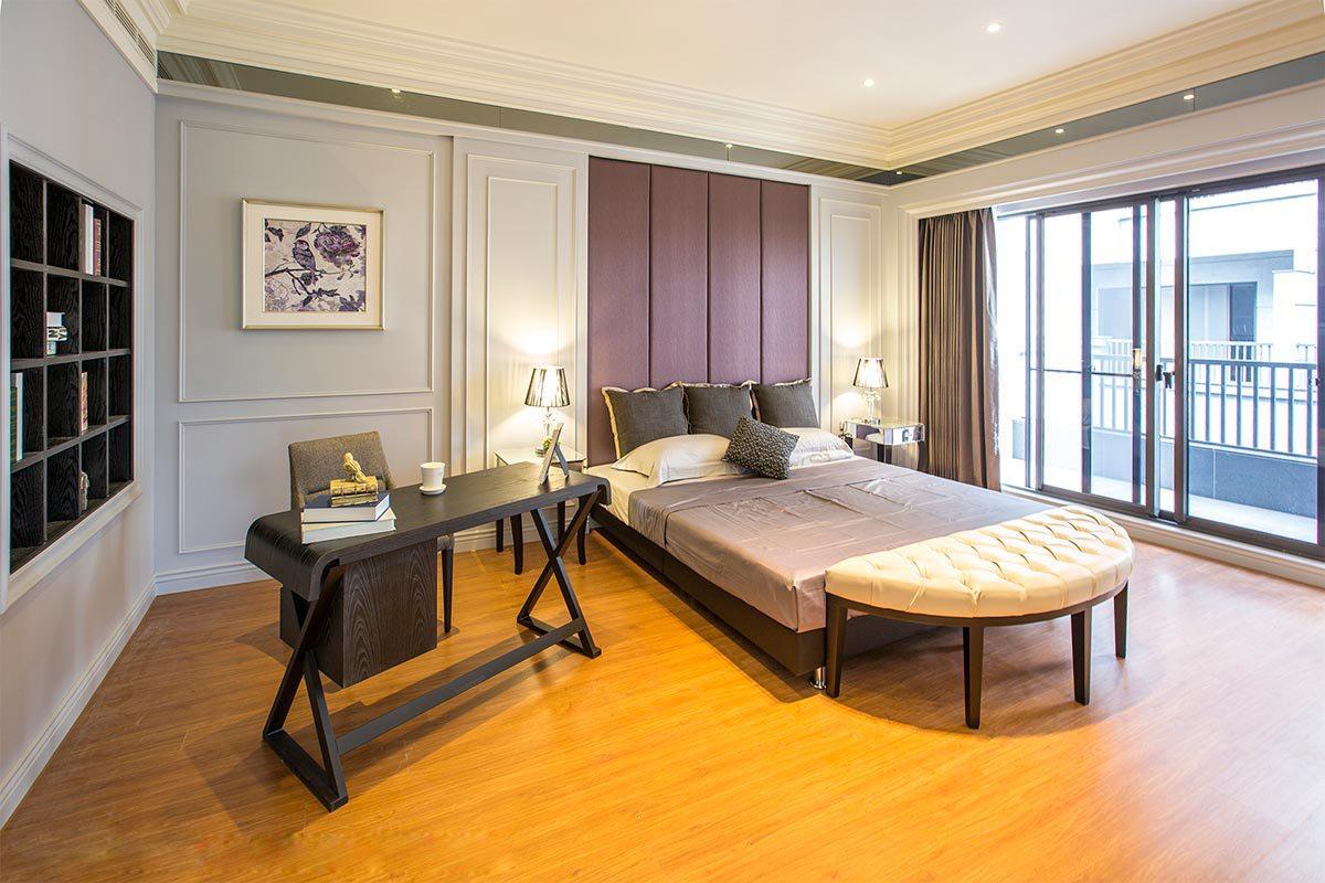 大户型复式别墅卧室装修效果图
