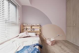 115平北欧风三居儿童房装修效果图
