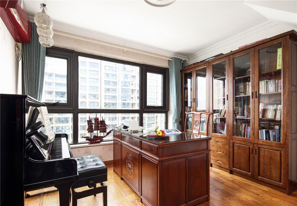 美式风格四居室书房装修效果图