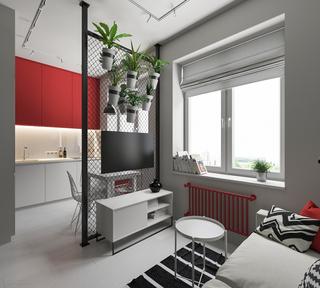 30平简约风公寓装修效果图